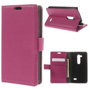 LG L Fino FlipStand Taske/Etui - Rosa