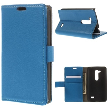 LG L Fino FlipStand Taske/Etui - Blå