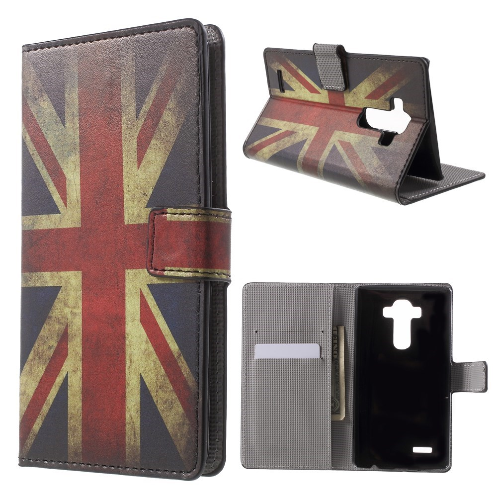 Image of   LG G4 Smart Flip Cover m. Pung & Stand - Union Jack