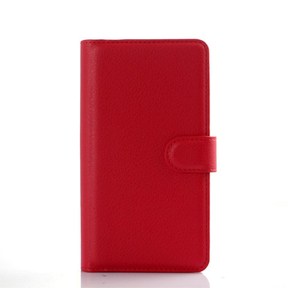 Image of   LG G4 Flip Cover til kort m. Stand - Rød