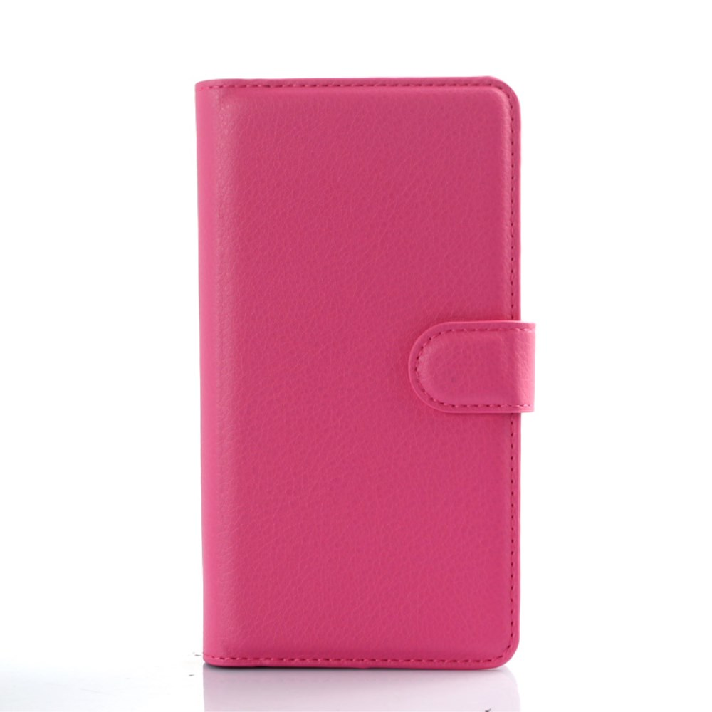 Image of   LG G4 Flip Cover til kort m. Stand - Pink