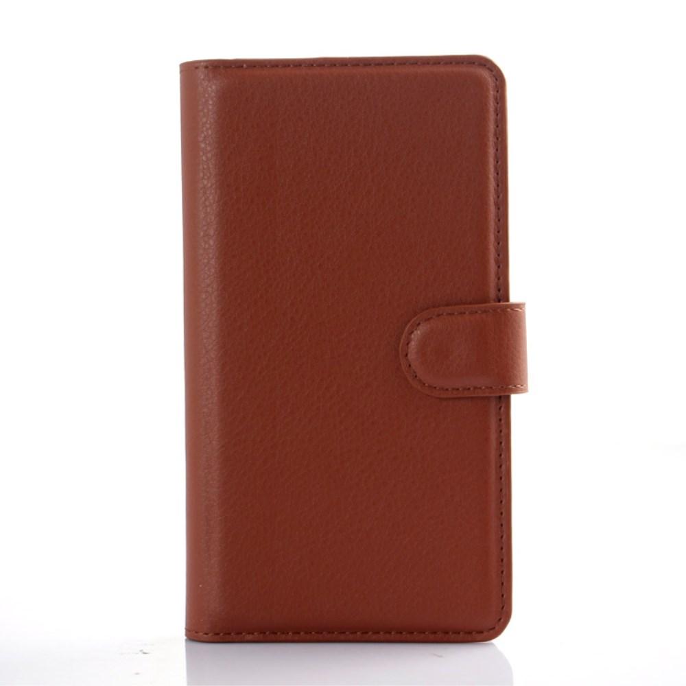 Image of   LG G4 Flip Cover til kort m. Stand - Brun