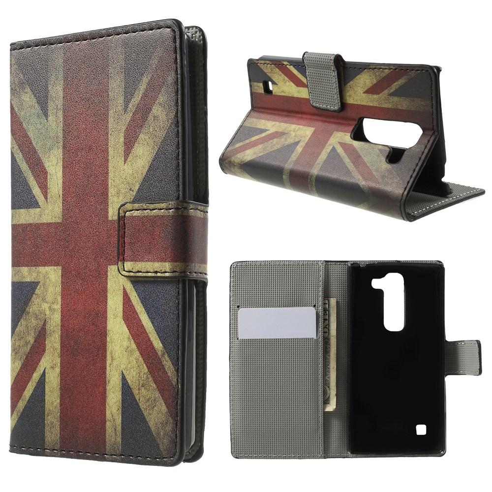 Billede af LG Spirit Design Flip Cover m. Stand & Pung - Union Jack