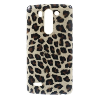 Image of LG G3 S inCover Design Plastik Cover - Brown Leopard