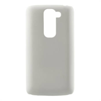 Image of LG L Fino Plastik cover fra inCover - Hvid