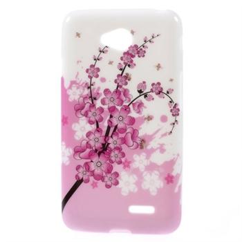 Image of LG L65 inCover Design TPU Cover - Plum Blossom