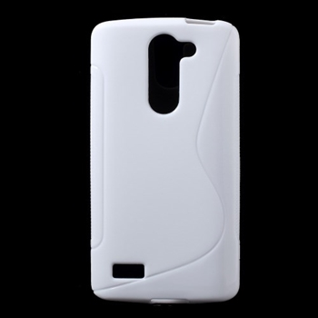 Image of LG L Bello inCover TPU S-Line Cover - Hvid