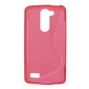 Image of LG L Bello inCover TPU S-Line Cover - Rød