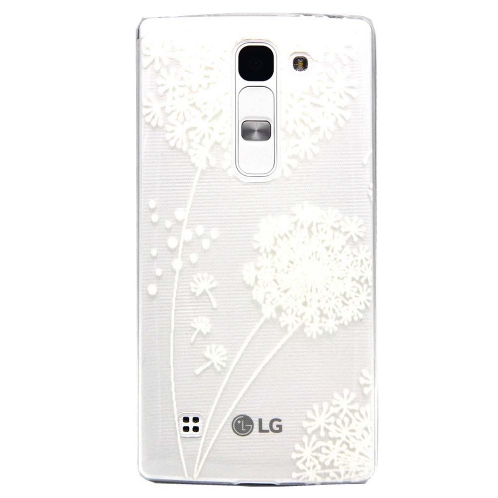 Billede af LG G4c inCover TPU Cover - White Dandelion