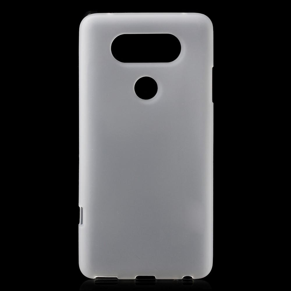 Billede af LG V20 InCover Mat TPU Cover - Hvid