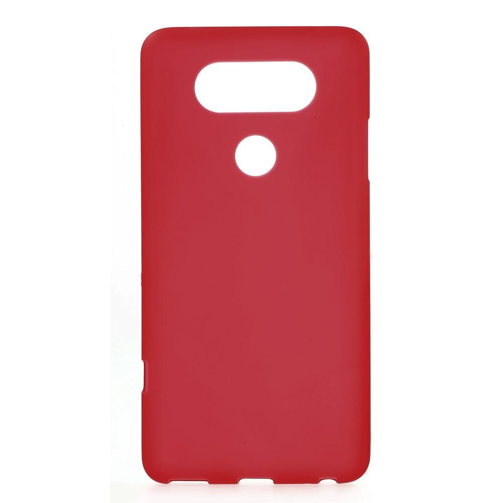 Billede af LG V20 InCover Mat TPU Cover - Rød