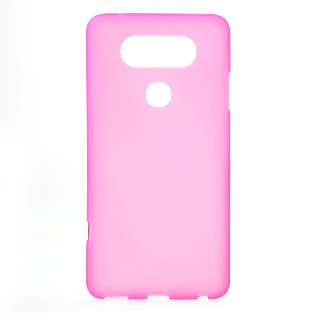 Billede af LG V20 InCover Mat TPU Cover - Rosa
