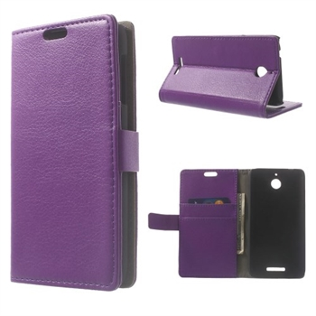 Image of HTC Desire 510 Deluxe FlipCover Med Pung - Lilla