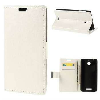 Image of HTC Desire 510 FlipCover Med Pung - Hvid