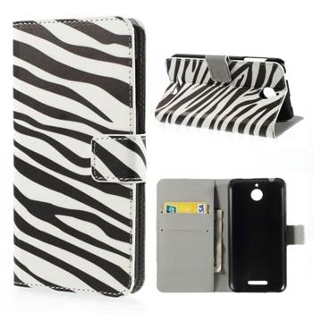 Image of HTC Desire 510 Design FlipCover Med Pung - Zebra