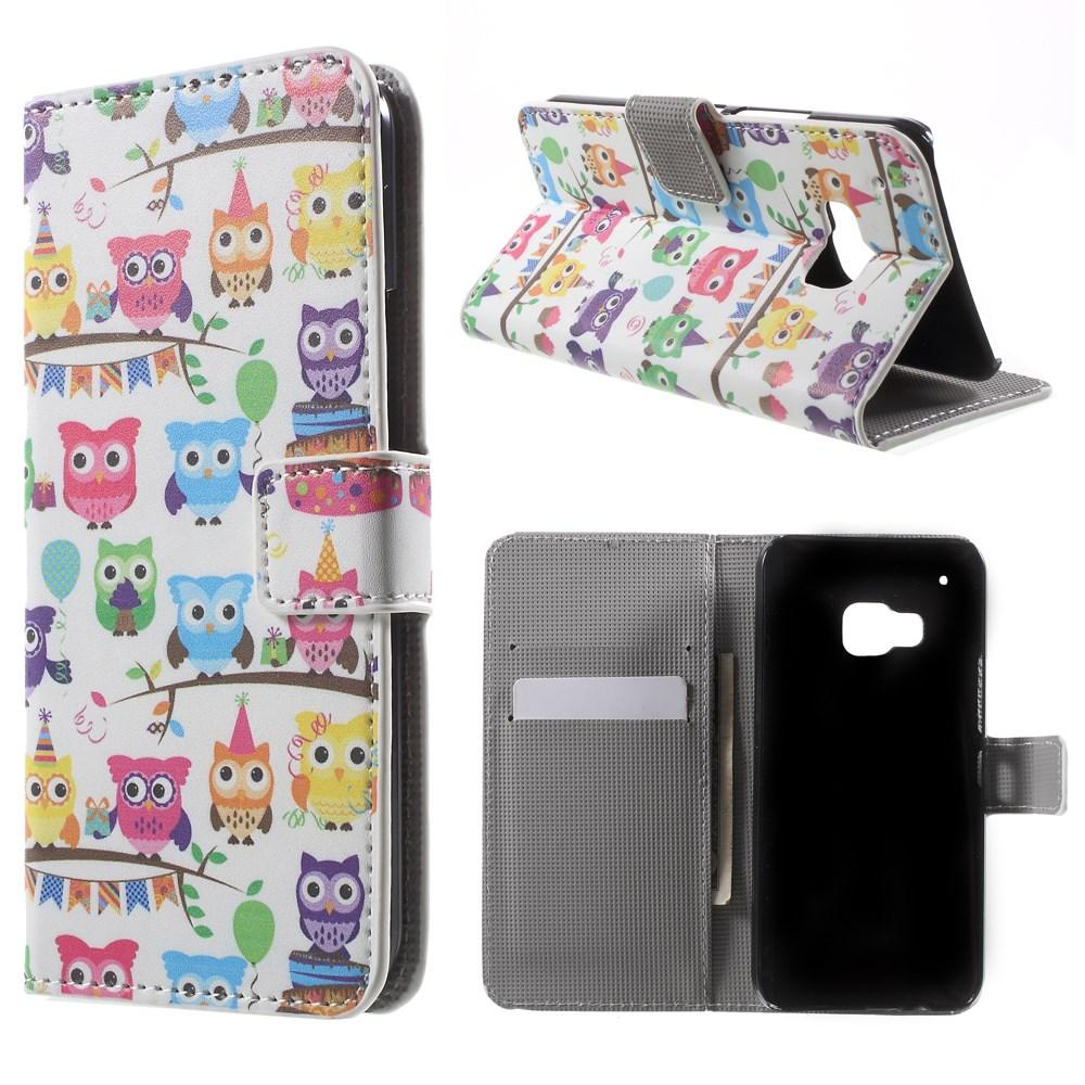 Billede af HTC One M9 Flip Cover m. Stand - Cute Owls Design