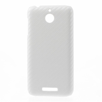 Image of HTC Desire 510 inCover Plastik Cover - Carbon Hvid