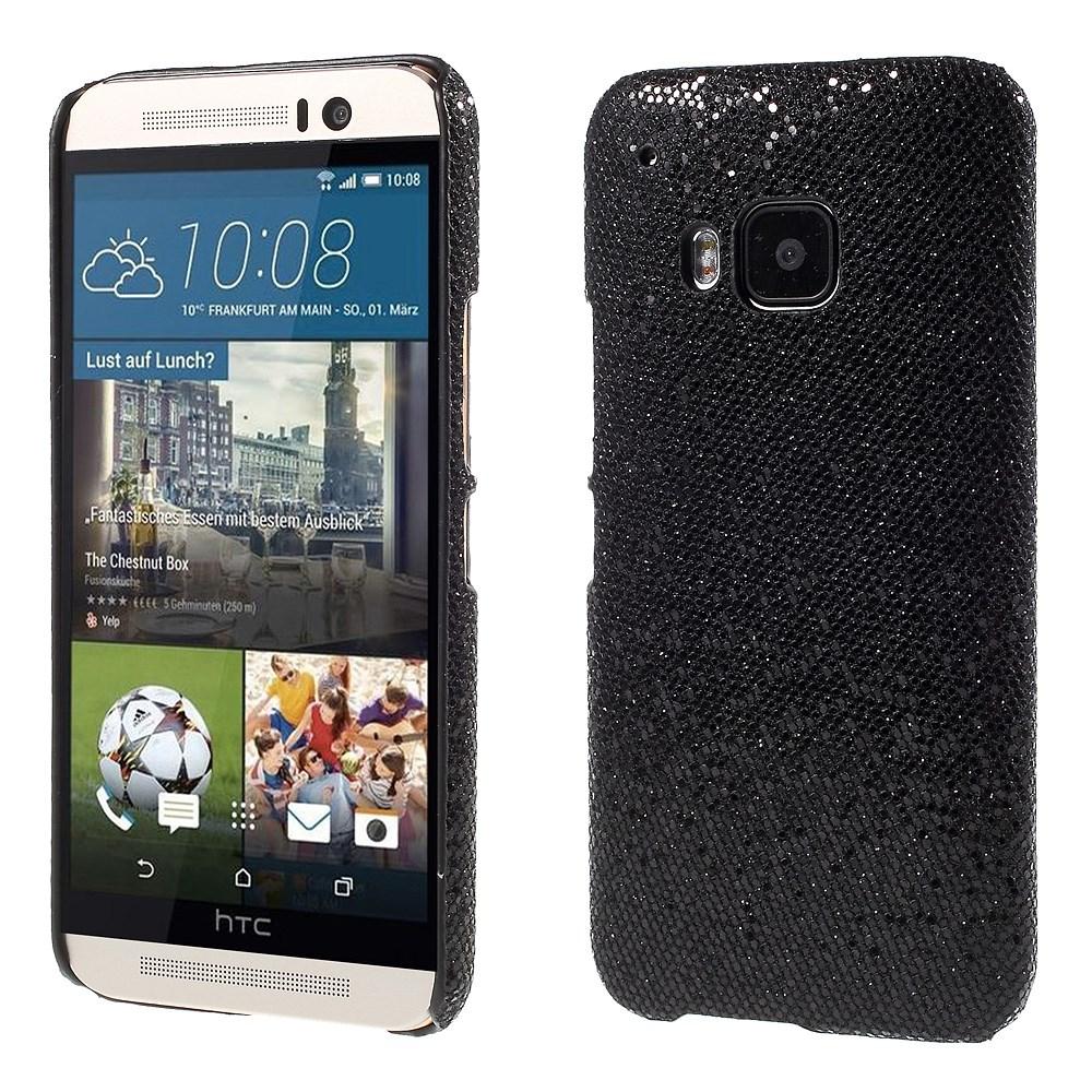 Billede af HTC One M9 inCover Plastik Glitter Cover - Sort