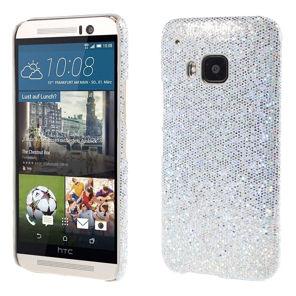 Billede af HTC One M9 inCover Plastik Glitter Cover - Sølv