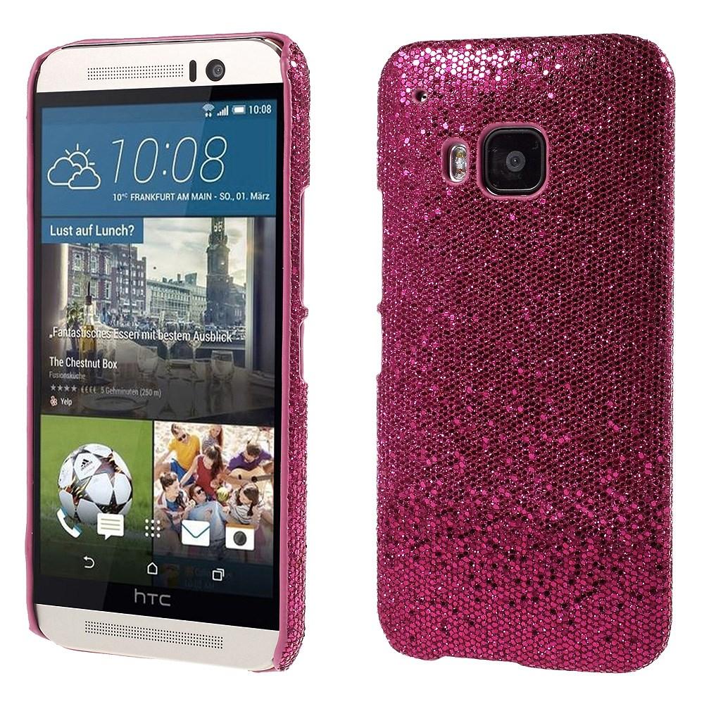 Billede af HTC One M9 inCover Plastik Glitter Cover - Pink