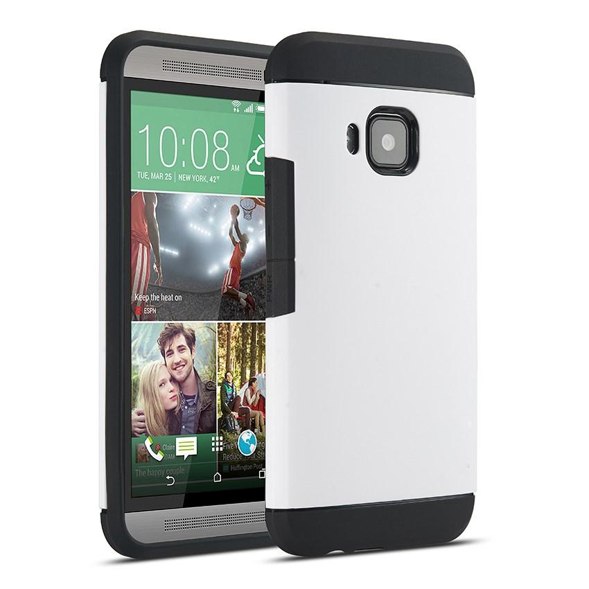 Billede af HTC One M9 Heavy Duty Armor Cover - Hvid
