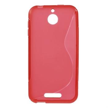 Billede af HTC Desire 510 inCover TPU S-Line Cover - Rød