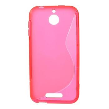 Billede af HTC Desire 510 inCover TPU S-Line Cover - Rosa