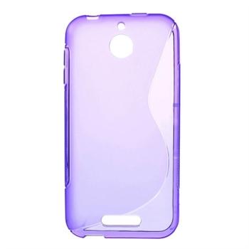 Billede af HTC Desire 510 inCover TPU S-Line Cover - Lilla