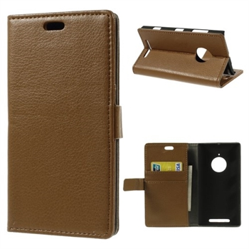 Image of Nokia Lumia 830 Deluxe FlipCover Med Pung - Brun
