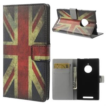 Nokia Lumia 830 FlipCover Med Pung - Union Jack