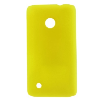Billede af Nokia Lumia 530 inCover Plastik Cover - Gul
