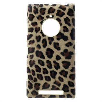 Image of Nokia Lumia 830 inCover Design Plastik Cover - Brown Leopard