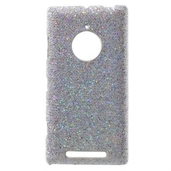 Image of Nokia Lumia 830 inCover Design Plastik Cover - Glitter Sølv