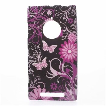 Image of Nokia Lumia 830 inCover Design TPU Cover - Black Butterfly
