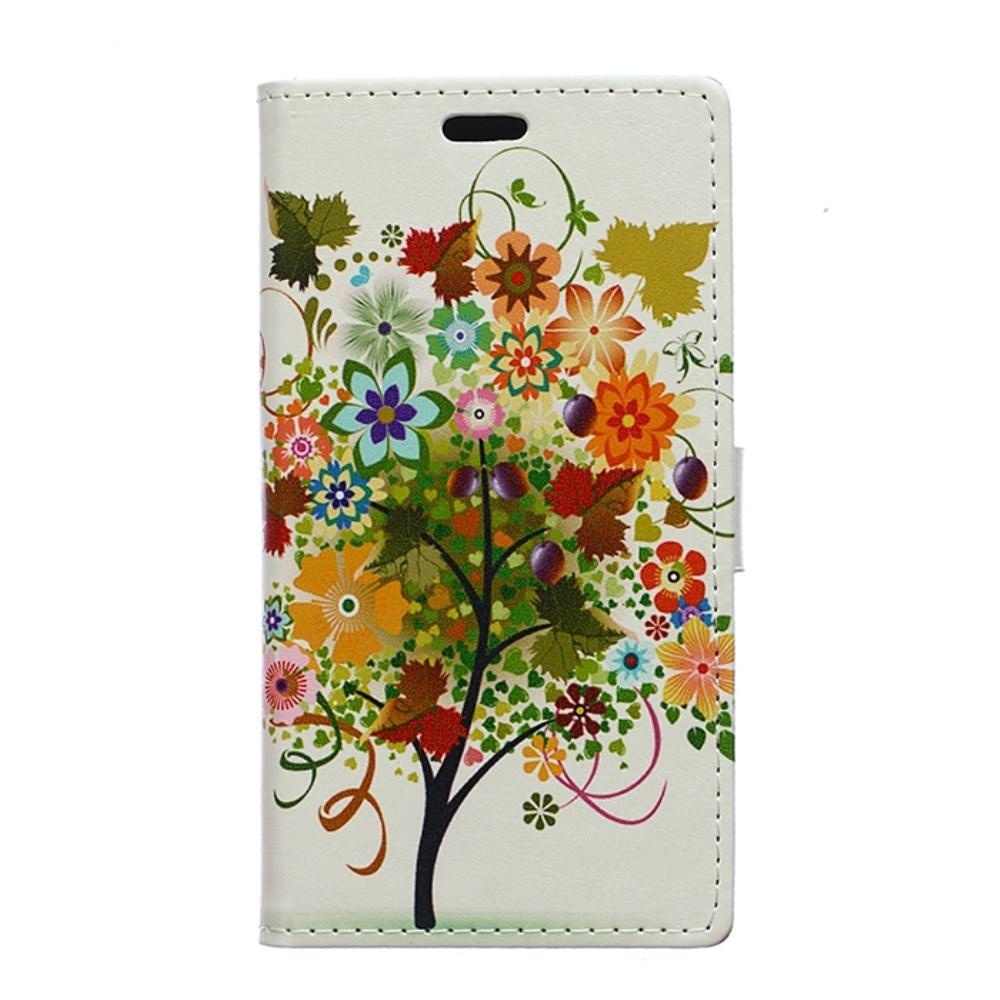 Billede af Huawei Ascend P8 Lite Flip Cover m. Stand - Colorful Tree