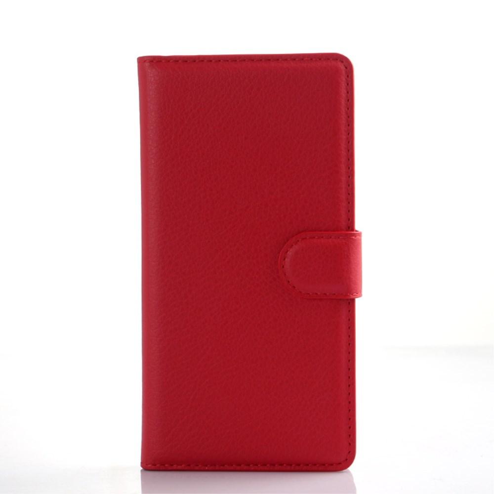 Billede af Huawei Ascend P8 Lite Smart Flip Cover m. Stand - Rød