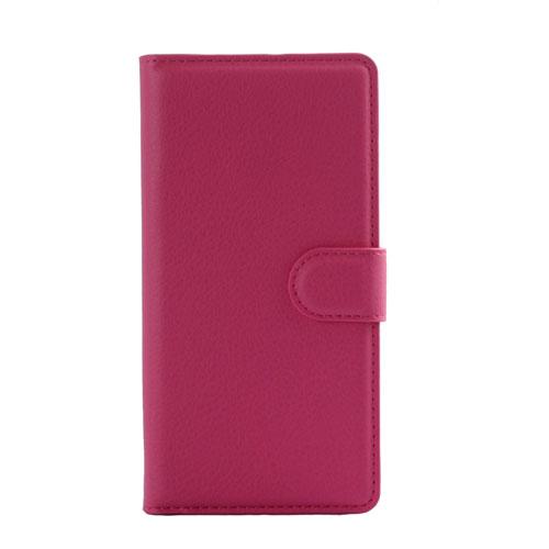 Billede af Huawei Ascend P8 Lite Smart Flip Cover m. Stand - Pink