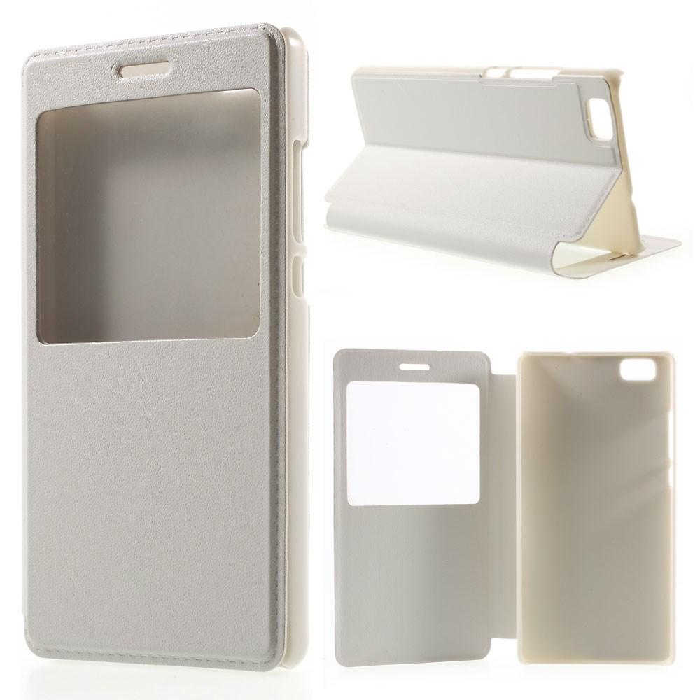 Billede af Huawei Ascend P8 Lite Smart Flip Cover m. Vindue - Hvid