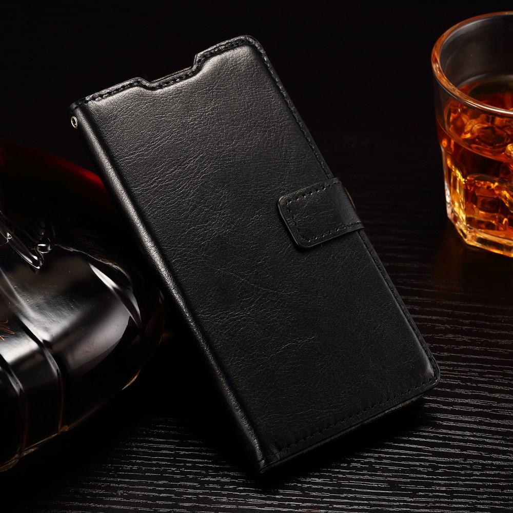 Billede af Huawei Ascend P8 Lite Deluxe Flip Cover m. Pung - Sort