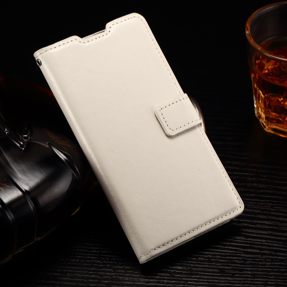 Image of Huawei Ascend P8 Lite Deluxe Flip Cover m. Pung - Hvid