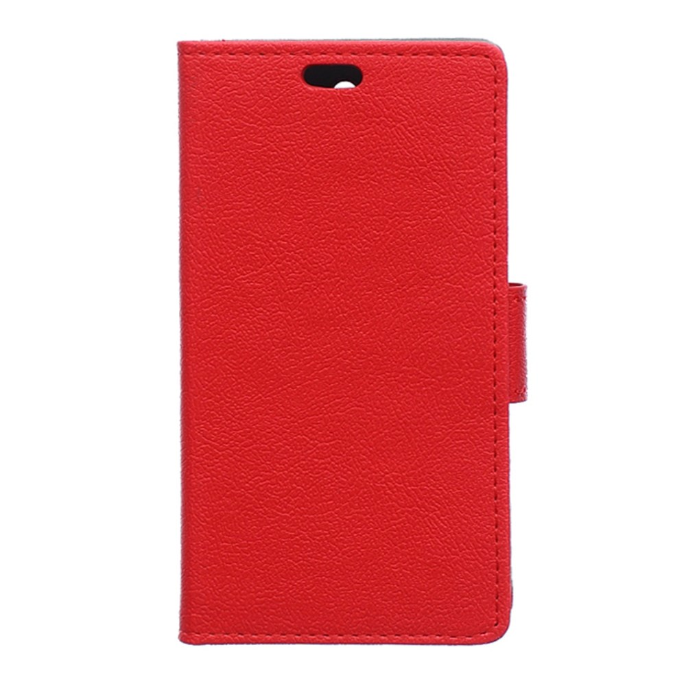 Image of Huawei Y5 Flip Cover m. Stand - Rød