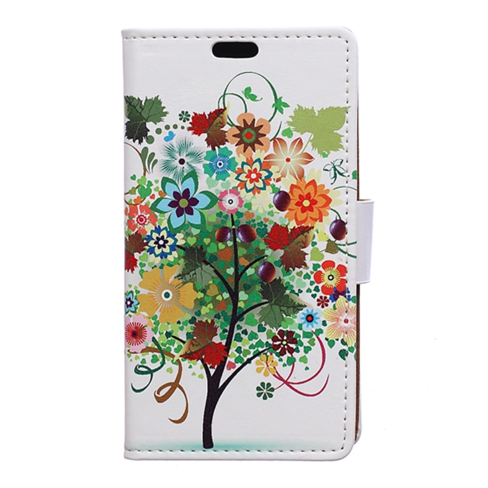 Image of Huawei Y5 Design Flip Cover m. Stand - Fruit Tree