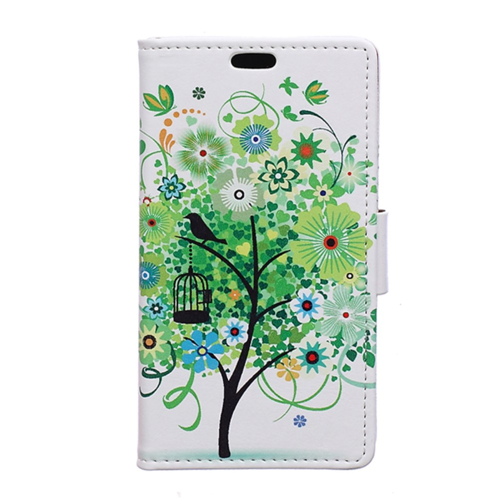 Image of Huawei Y5 Design Flip Cover m. Stand - Spring Tree