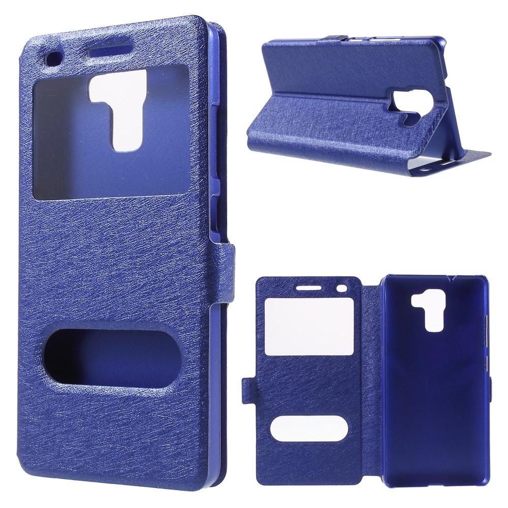 Billede af Huawei Honor 7 Flip Cover m. Smart Vindue - Blå