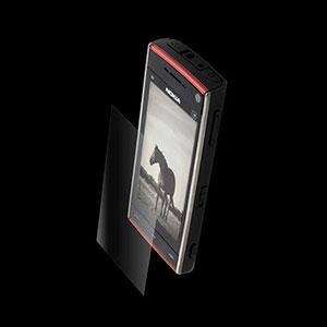 Nokia X6 invisible SHIELD skærmbeskyttelse