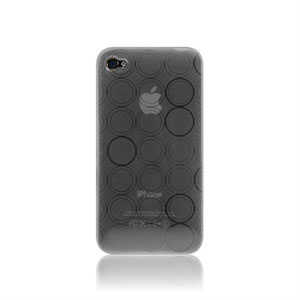 Image of   Apple iPhone 4 TPU Tube cover fra inCover - gennemsigtig