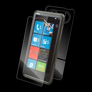 HTC HD7 Beskyttelsesfilm