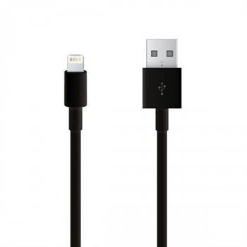 Billede af Katinkas Lightning USB Oplade Og Datakabel til Apple - Sort 1M