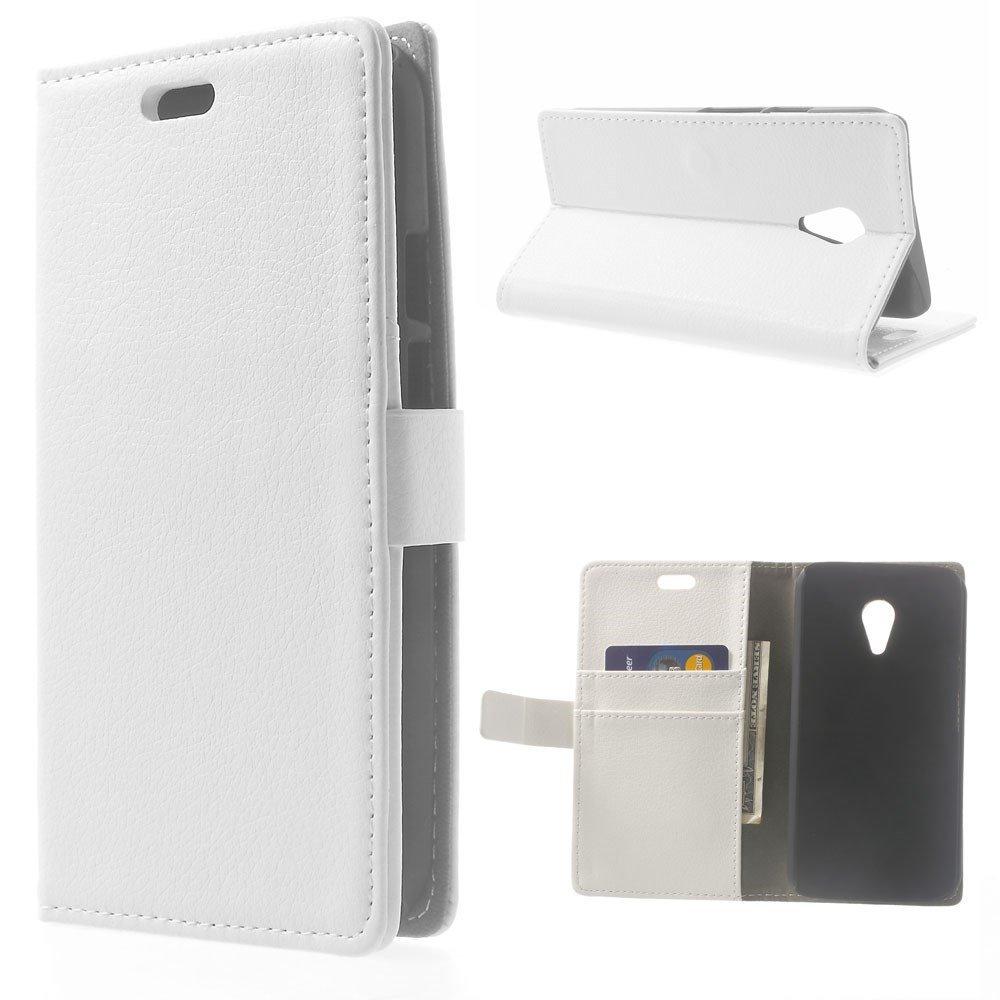 Billede af Motorola Moto G2 Luksus Flip Cover m. Pung - Hvid