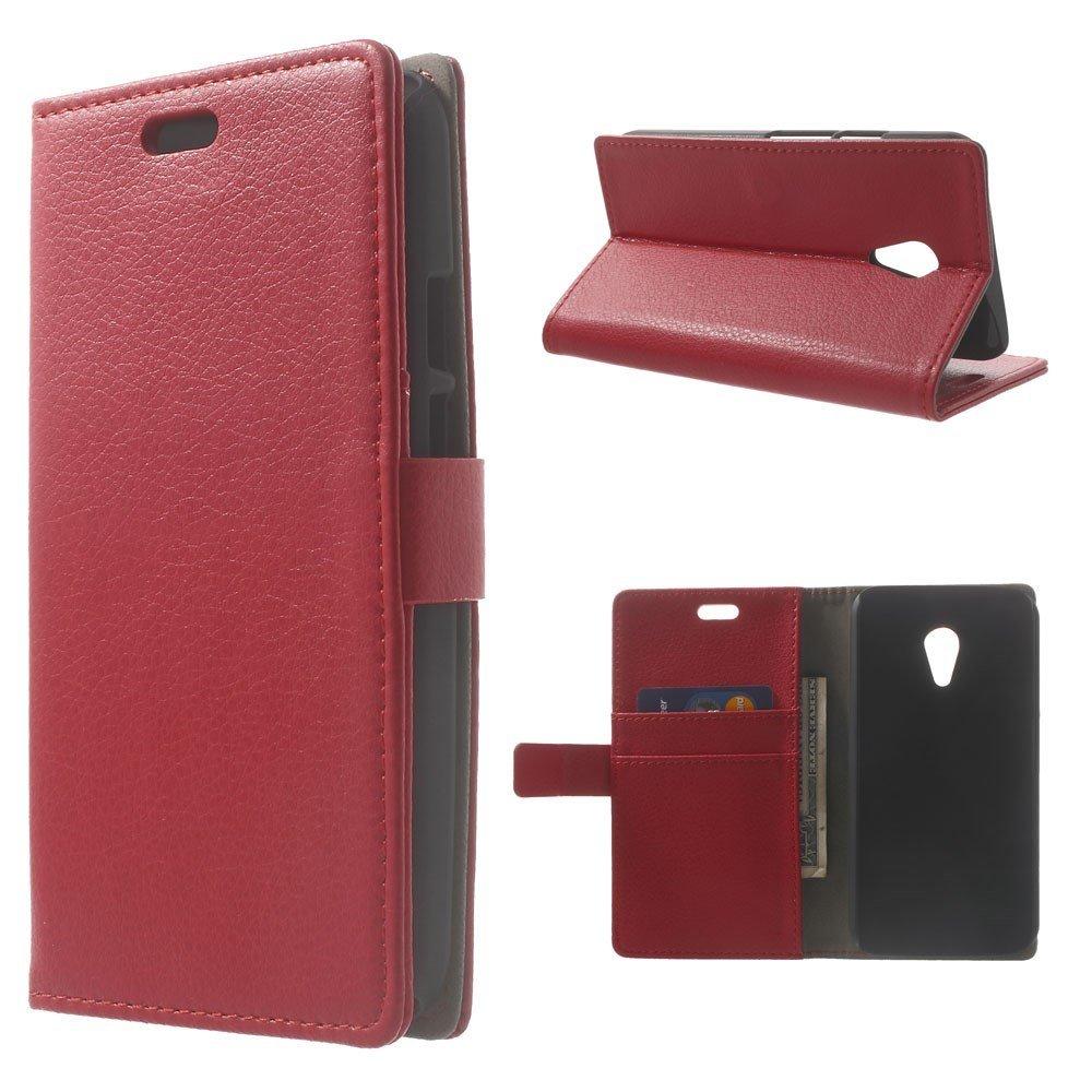 Billede af Motorola Moto G2 Luksus Flip Cover m. Pung - Rød